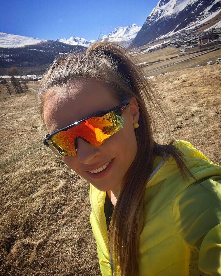 Dorothea Wierer - relax v Livignu
